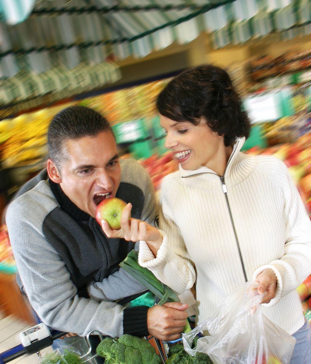 Comer fruta y verdura