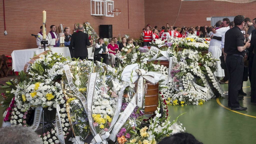 Funeral en Monterrubio de la Serena.