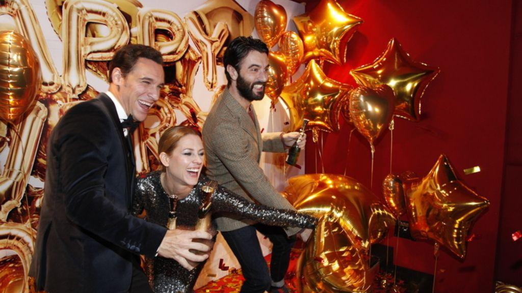 Nuestros famosos brindaron con Moët & Chandon por un divertido 2017