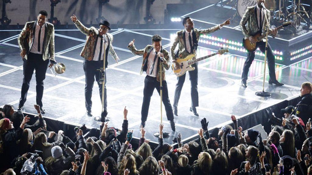 La actuación de Bruno Mars