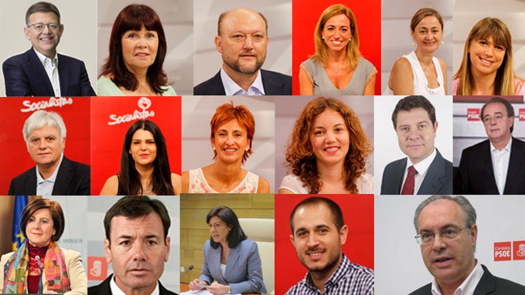 Dimisiones Comisión Ejecutiva PSOE