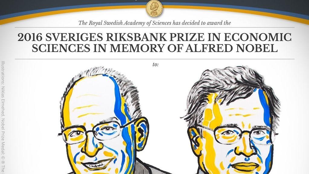Oliver Hart y Bengt Holmström, los ganadores del premio Nobel de economía 2016