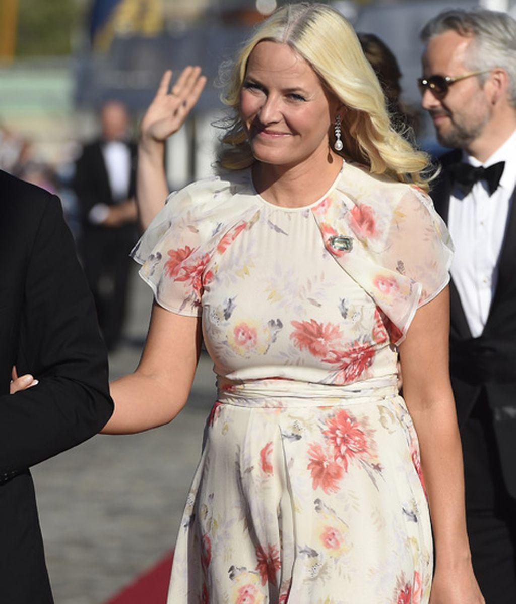 Mette Marit de Noruega acudió sin su marido, el príncipe Haakon