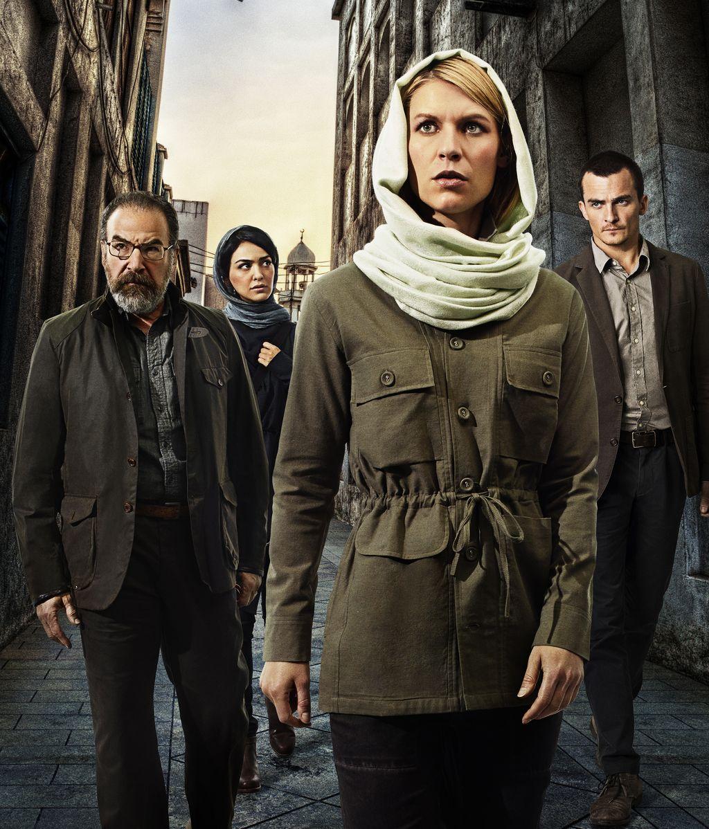 Primeras fotos promocionales de la cuarta temporada de 'Homeland'