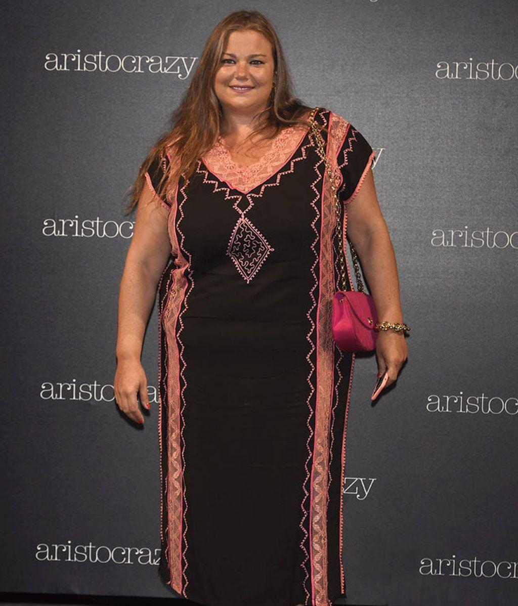 Caritina Goyanes, imagen de la firma de ropa de tallas grandes Couchel