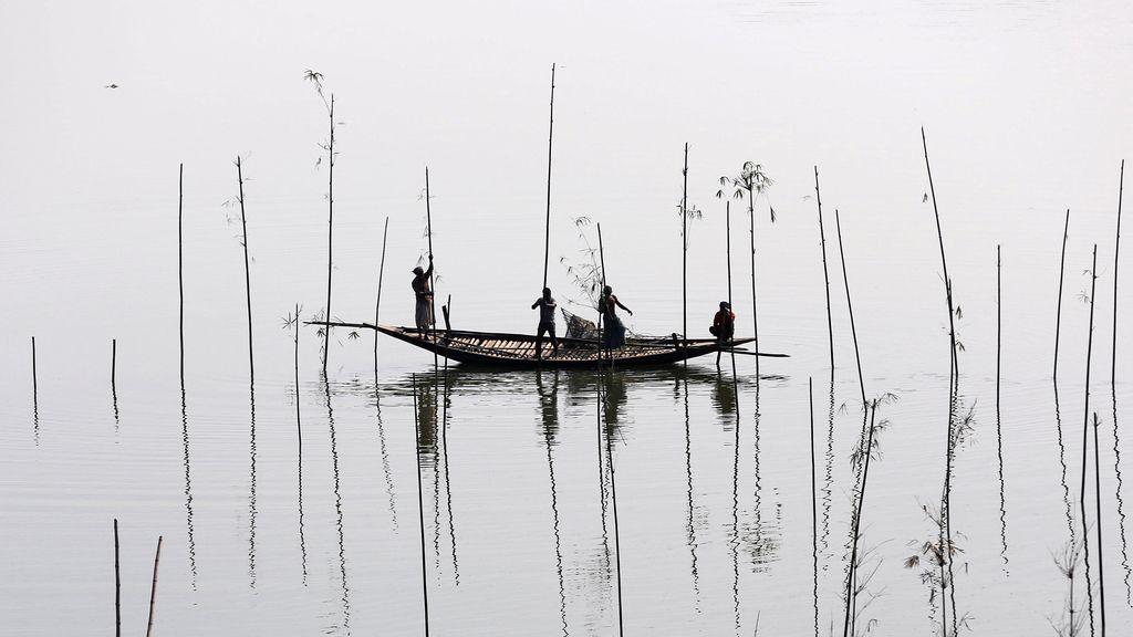 Pescar en Dhaka