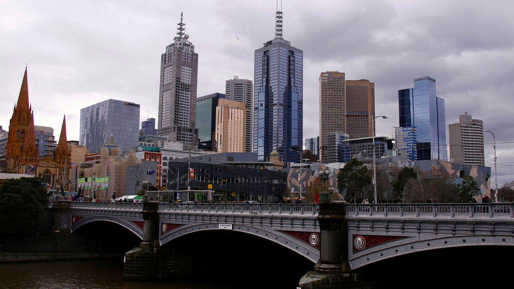 Melbourne, desde los cielos