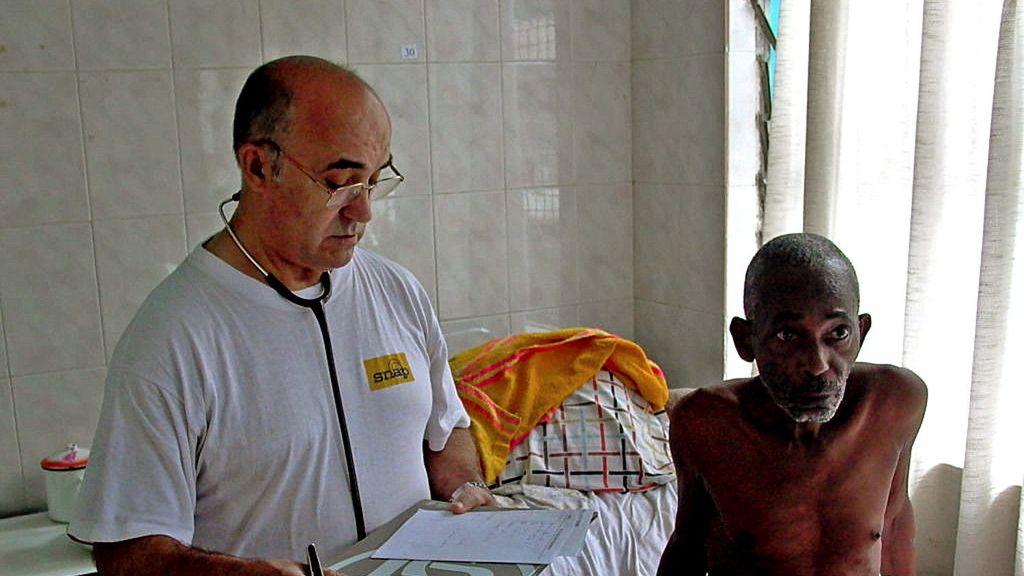 Manuel García Viejo, el religioso enfermo de ébola