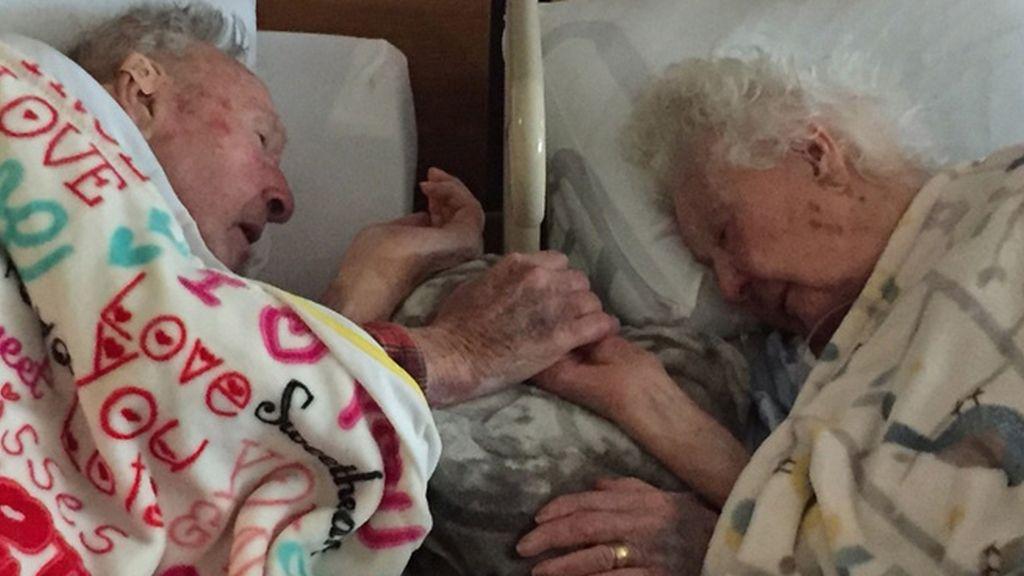 El cariñoso gesto de un centenario a su esposa horas antes de que falleciera