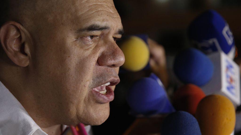 El secretario ejecutivo de la Mesa de Unidad Democrática (MUD), Jesús Chuo Torrealba