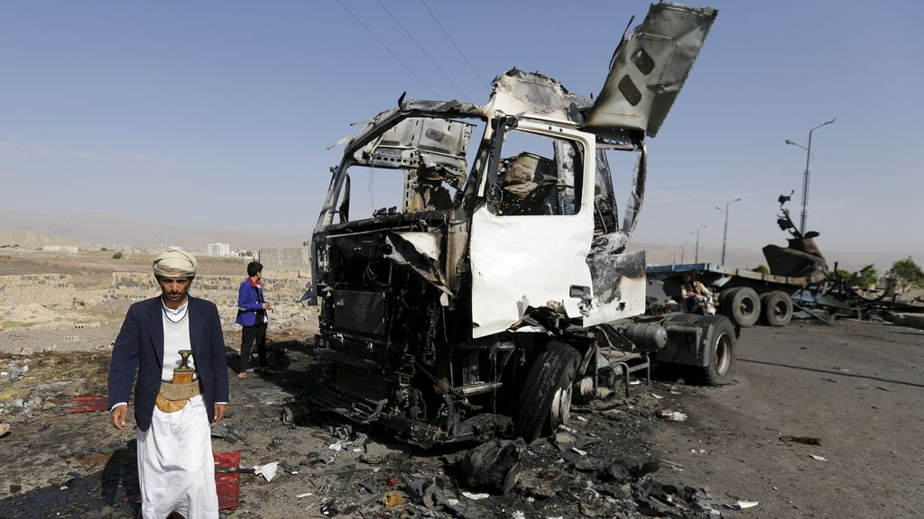 Un bombardeo de la coalición saudí en Yemen habría dejado al menos 36 civiles muertos