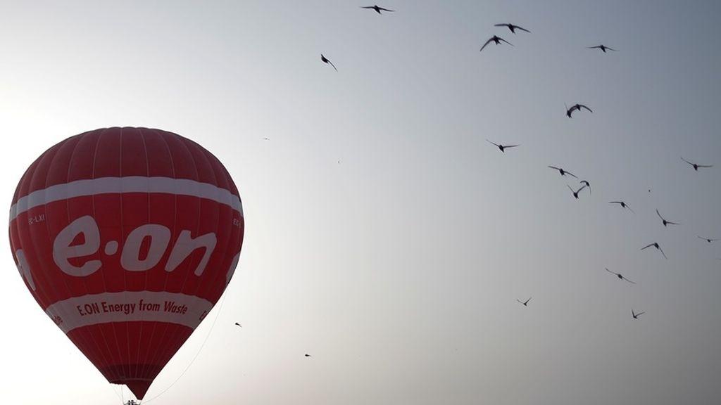 Un viaje en globo con compañía