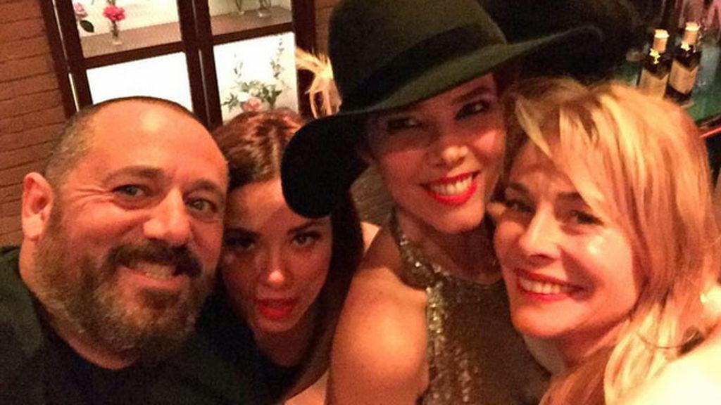 Pepón Nieto, Belén Rueda y Dafne Fernándea tampoco se lo perdieron