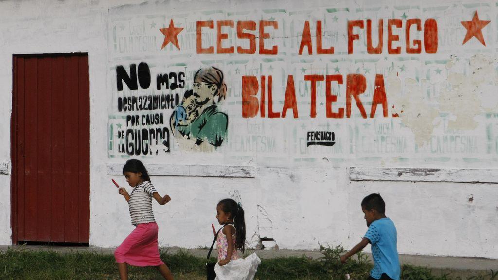 Alto el fuego en Colombia