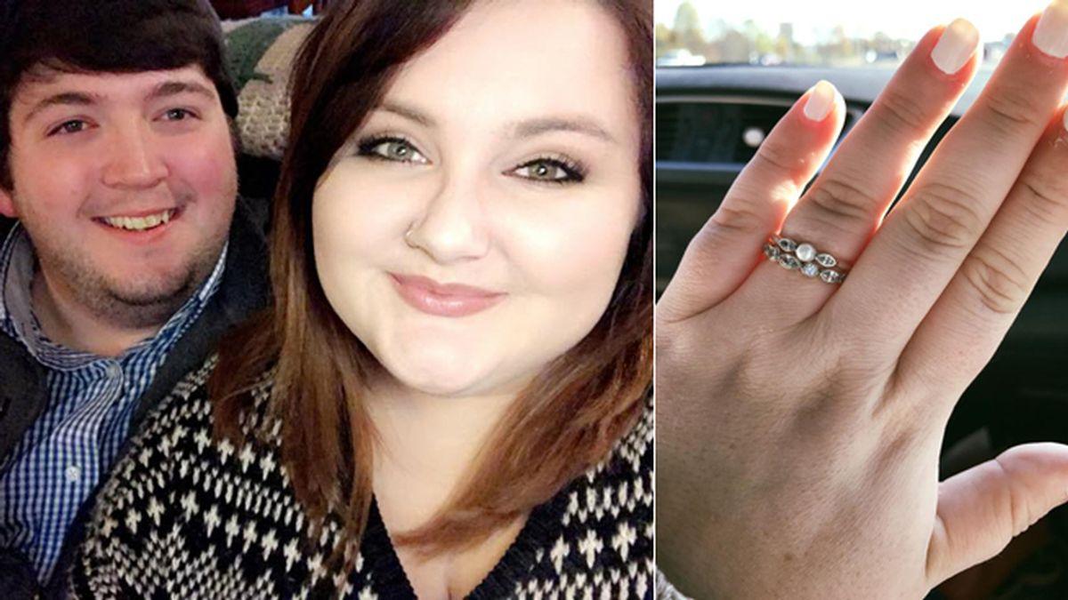La emotiva carta de una mujer que fue avergonzada por el valor de su anillo de compromiso