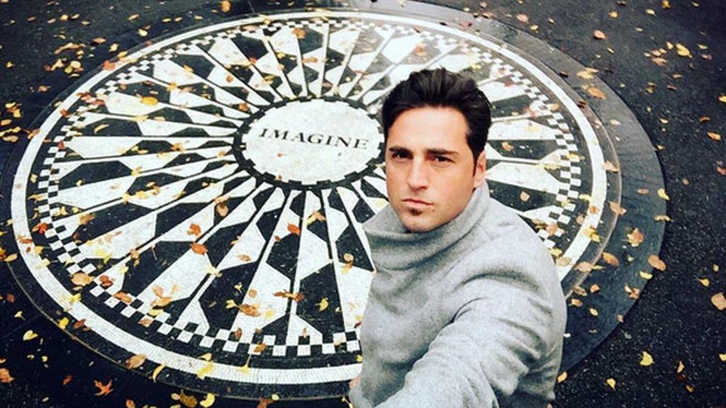 Fotografía en el memorial de John Lennon