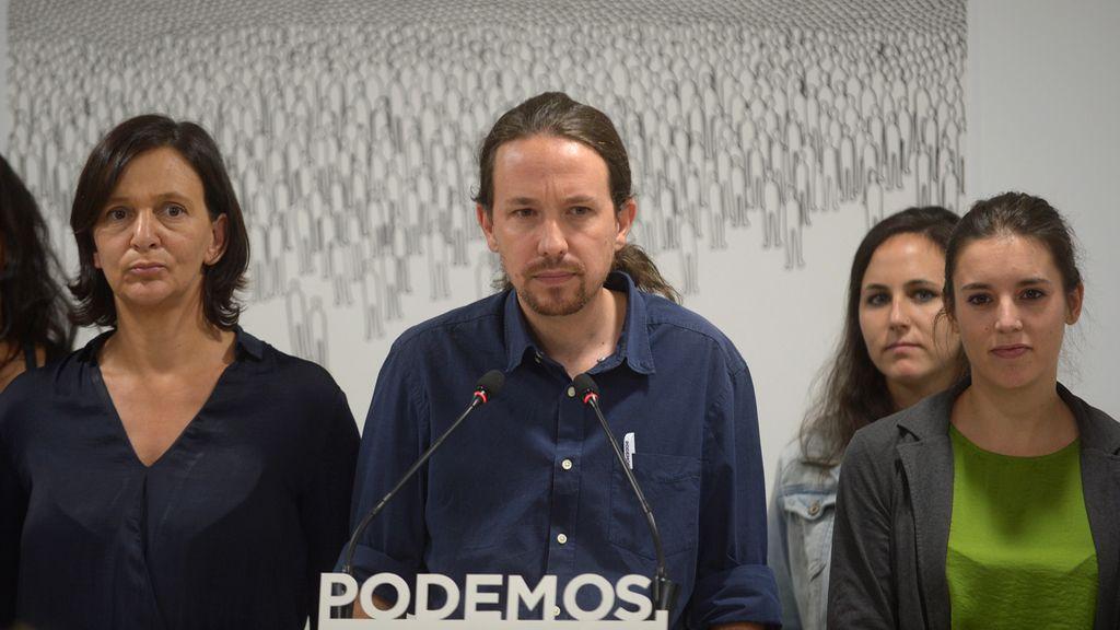 Pablo Iglesias valora los resultados de las elecciones catalanas