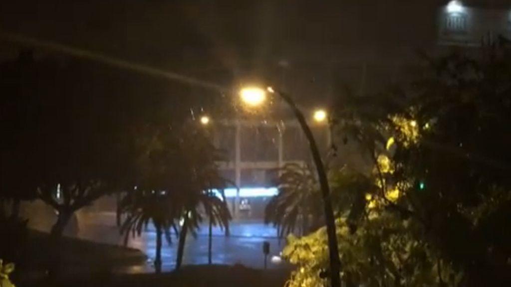 Málaga inundada