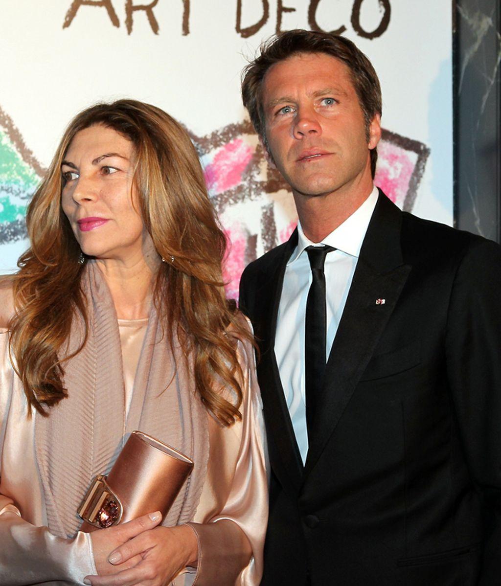 Rita Caltagirone y el Príncipe Emmanuel Filiberto de Saboya