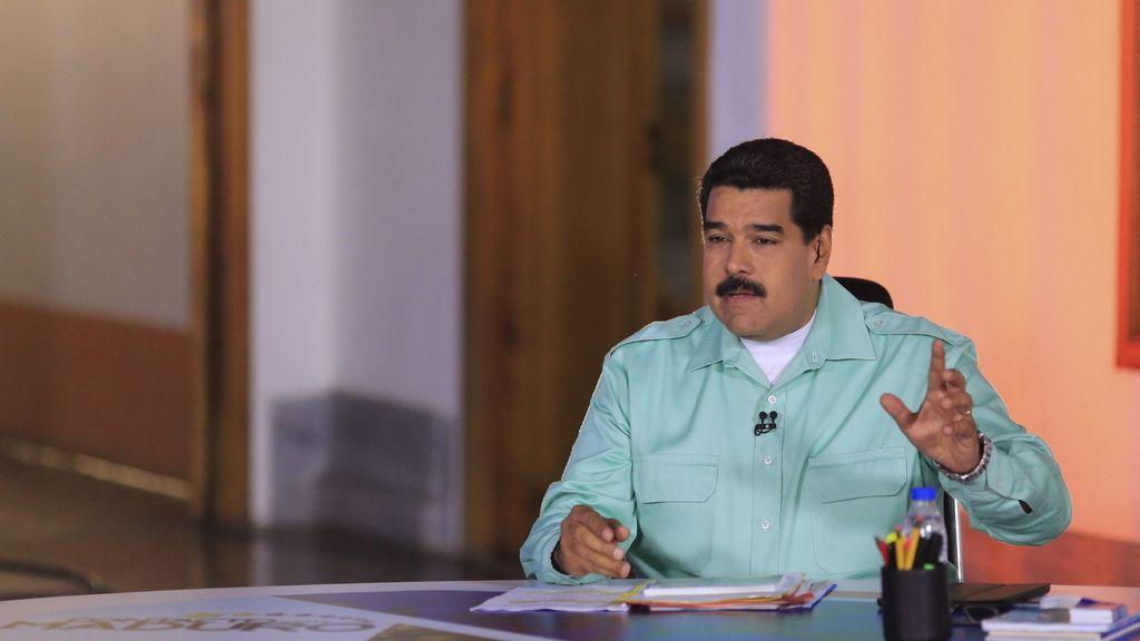 Nicolás Maduro arremete contra España y Rajoy
