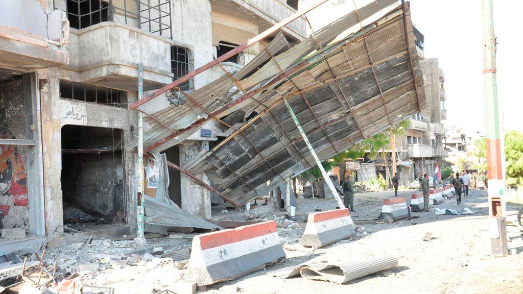 Dos muertos en la explosión en Bab Tadmor, en Homs