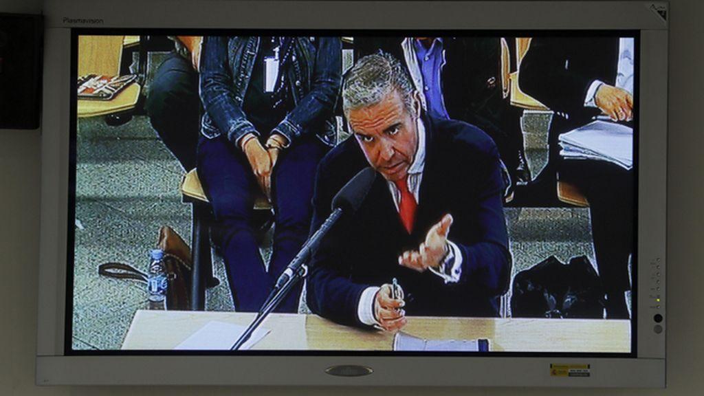 Roberto Fernández declara en el juicio por la trama Gürtel
