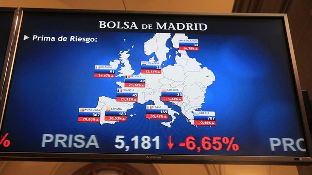 Caida bolsa española tras 'brexit'