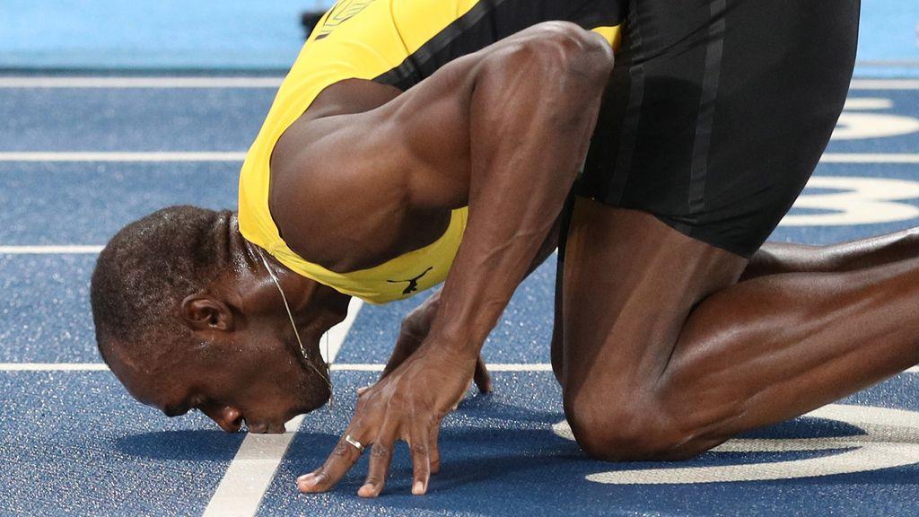 El jamaicano aspira al triplete de oro en el 4x100