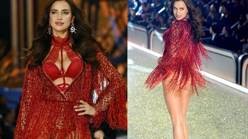 Irina Shayk desfila para Victoria's Secret