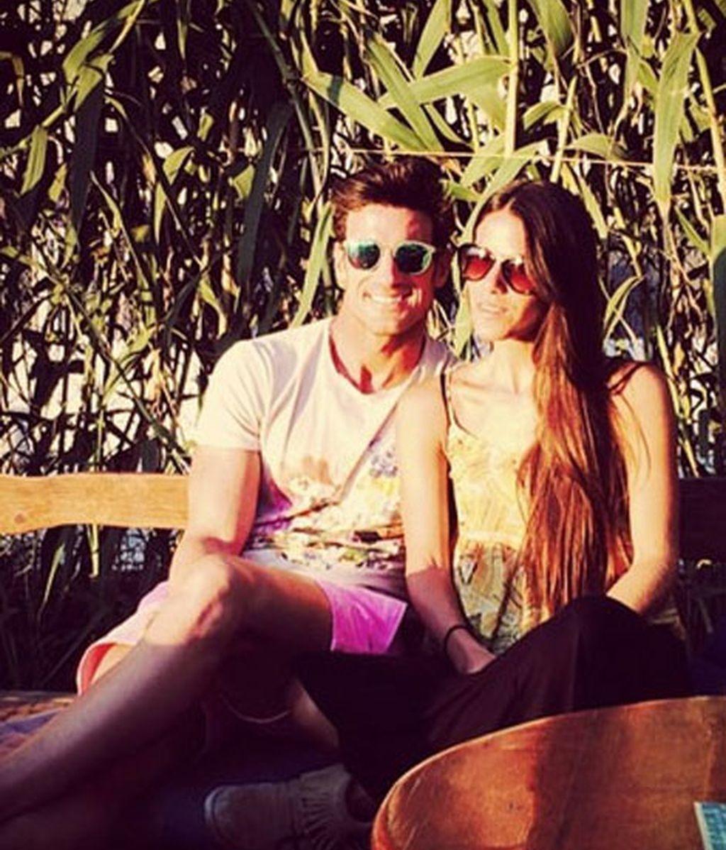 Aitor Ocio, 'in love' en Ibiza con Covi Riva