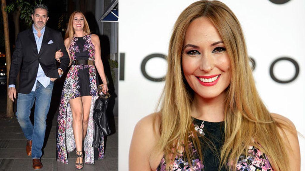 Chayo Mohedano eligió un vestido con estampado floral a dos largos