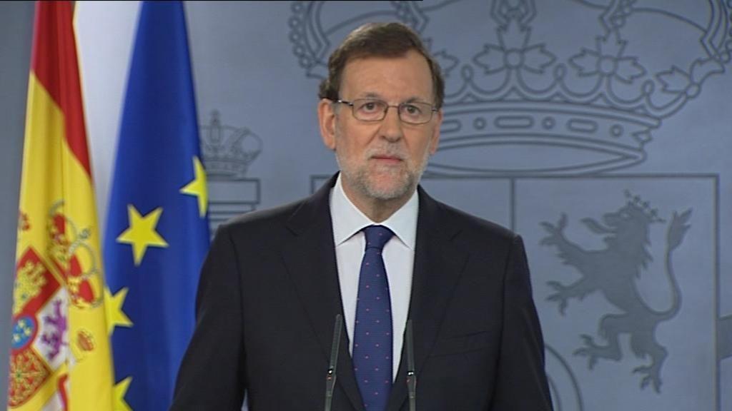 Mariano Rajoy comparece tras el sí al 'brexit'