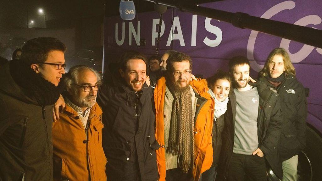 Pablo Iglesias arranca la campaña electoral en Zamora