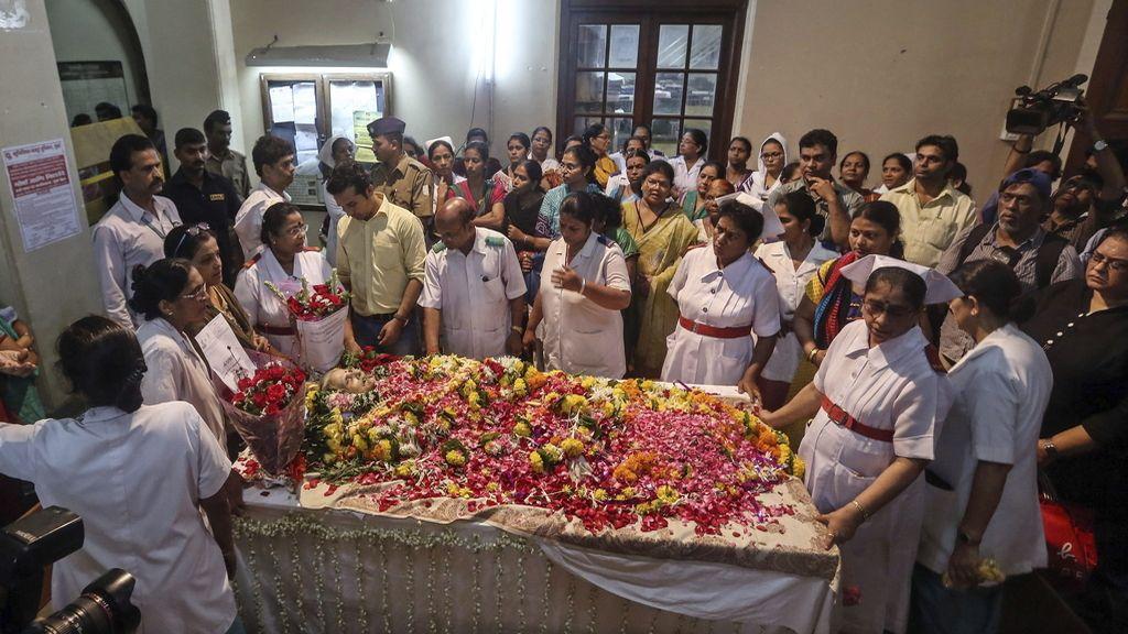 Fallece una mujer india tras 42 años en coma después de ser violada y estrangulada
