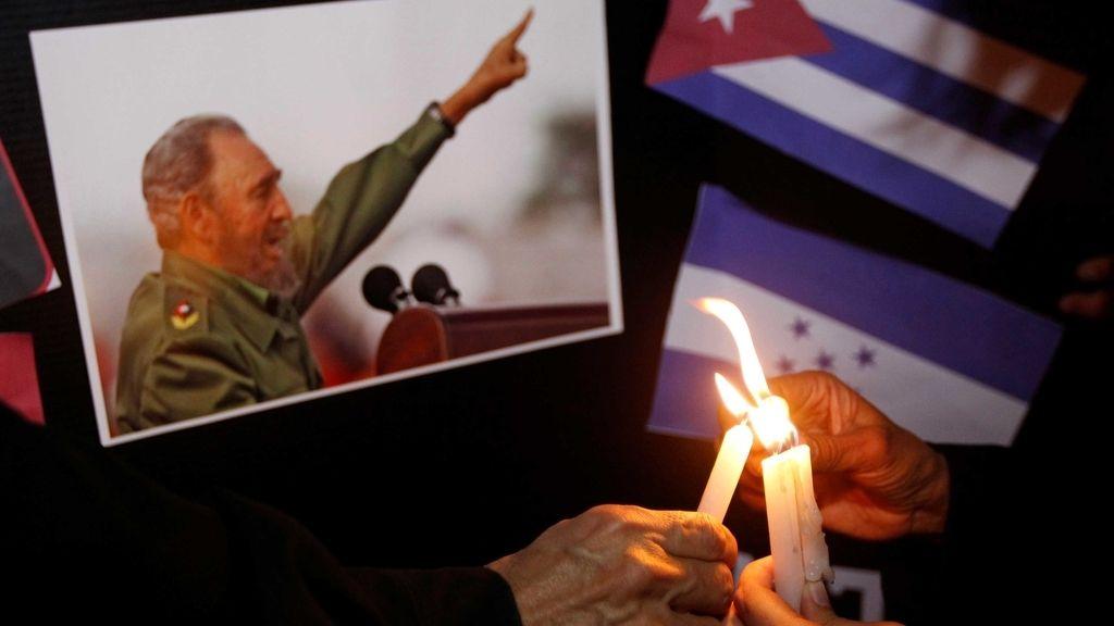 Homenaje a Fidel Castro en Honduras