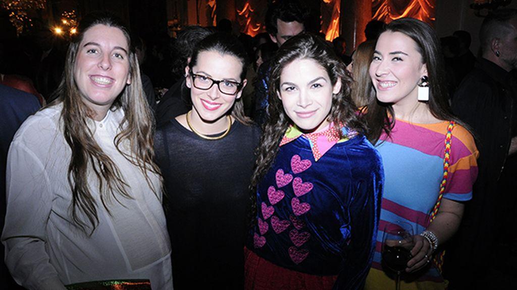 Águeda Alvargonzález, Alejandra Ansón, Cósima Ramírez y Catarina de Lancastre