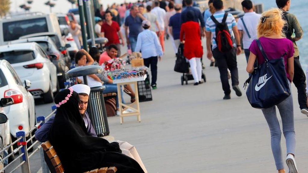 Personas en la calle