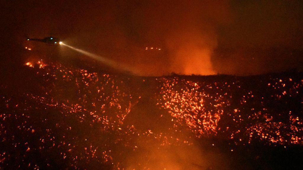 El trágico incendio en California