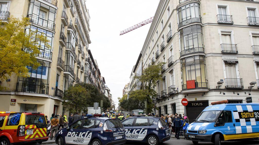 Desalojo de siete edificios de Madrid por peligro de derrumbe