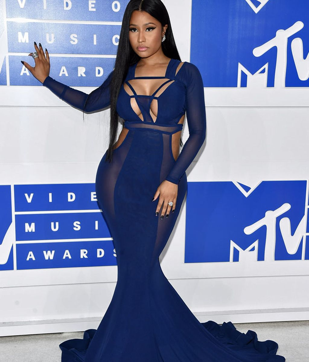 Nicki Minaj en los 'MTV MVA' en Madison Square