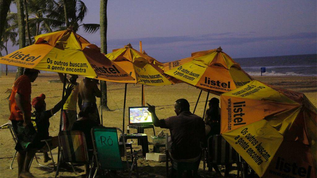 Un día en la playa acabó con la victoria de Brasil