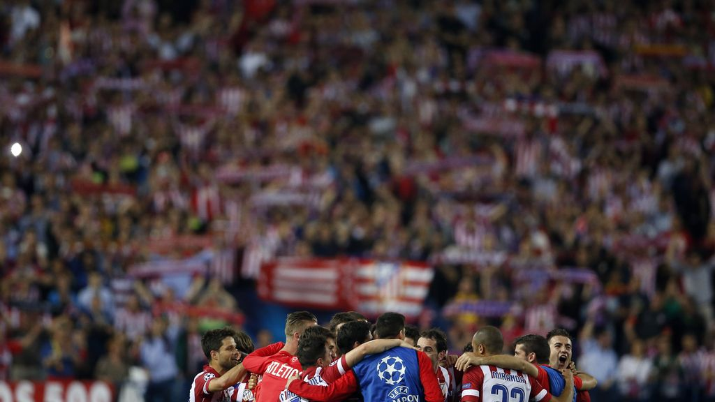 El Atlético de Madrid llega a semifinales 40 años después
