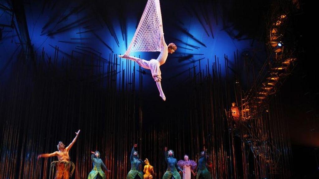 Muere el hijo del fundador del Circo del Sol en un accidente durante el ensayo de 'Luzia'
