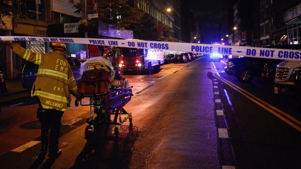 Manhattan heridos