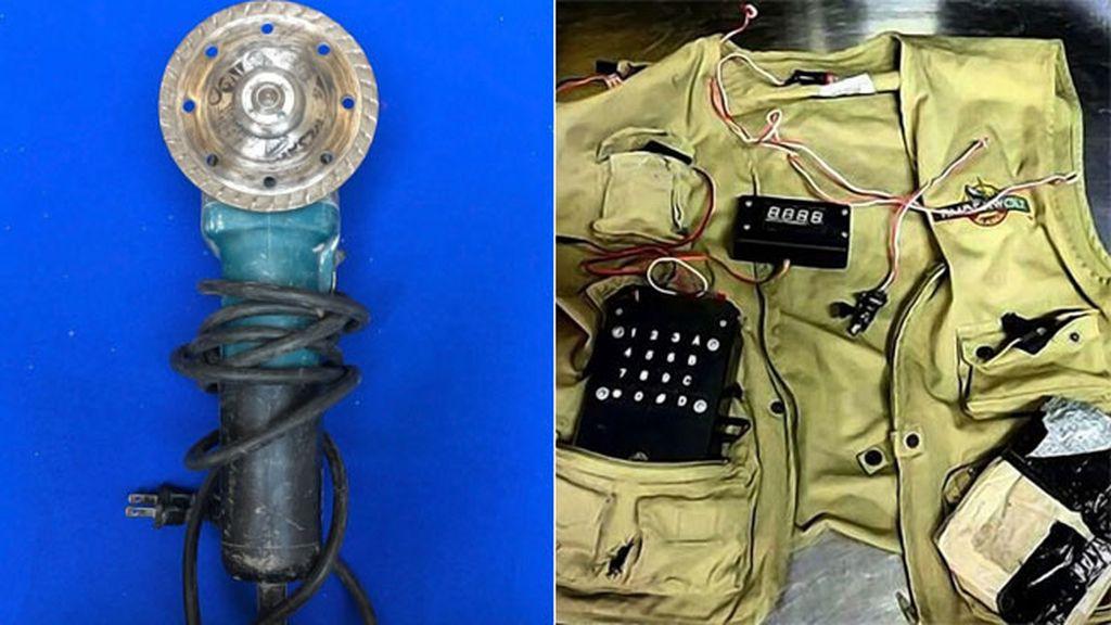 Los objetos más extraños incautados a pasajeros de aviones en EEUU