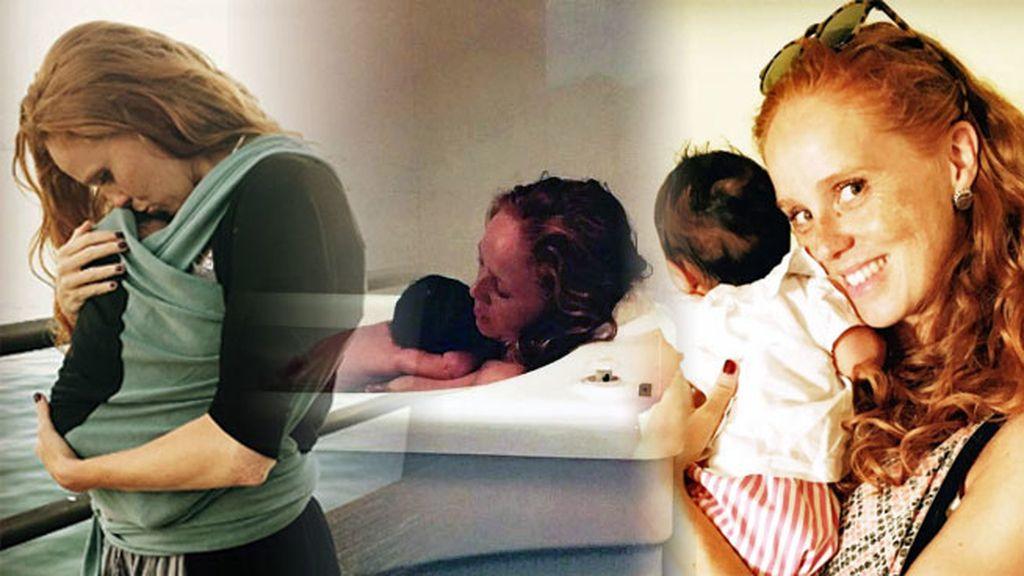 """Maia nació hace dos meses y """"a mami se le cae la baba"""""""
