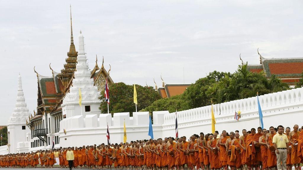 Conmemoración del 70 aniversario del ascenso al trono del rey Bhumibol Adulayadej de Tailandia