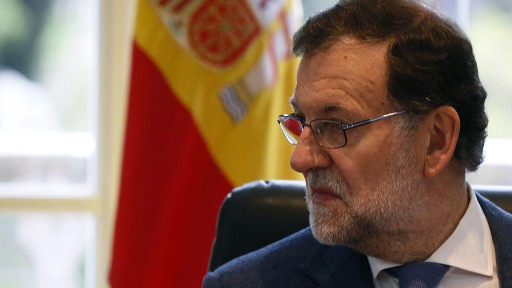 Rajoy en una reunión