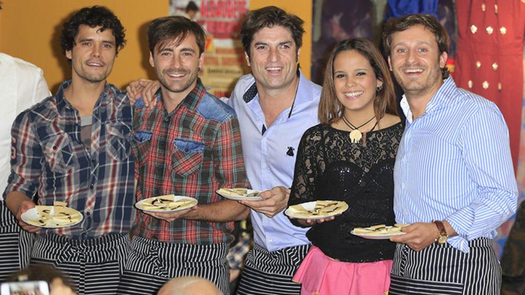 Poker de VIPS: Miguel Abellán, Pablo Nieto, Gloria Camila y Juan Peña