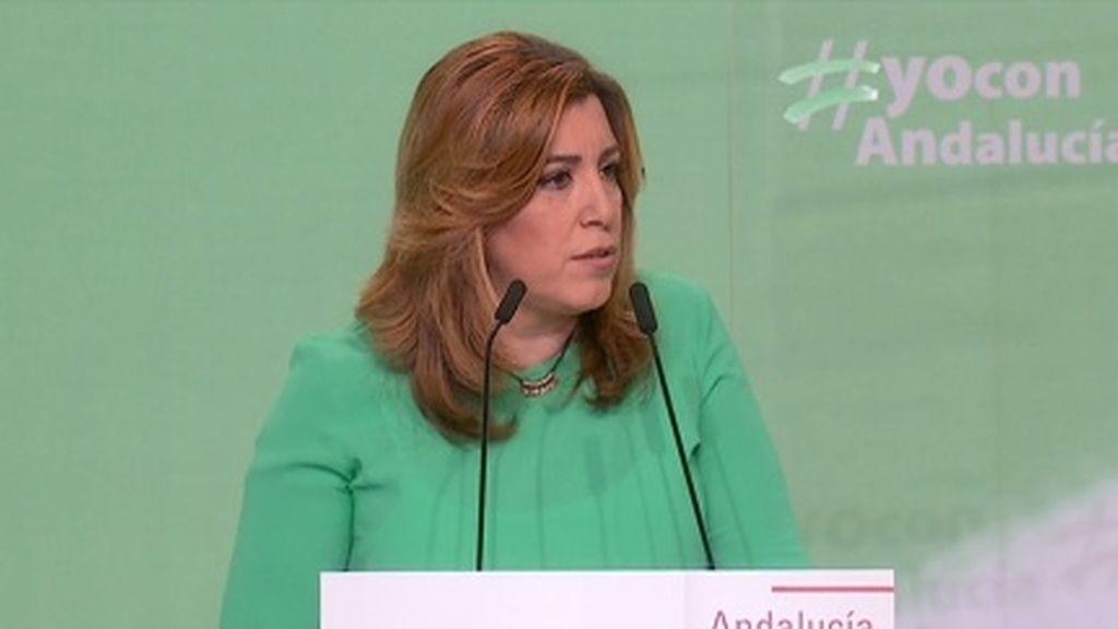"""Díaz defiende que Andalucía tiene la """"obligación de garantizar la unidad de todos los españoles"""""""